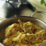 Pollo in fricassea (Фрикасе из курицы)