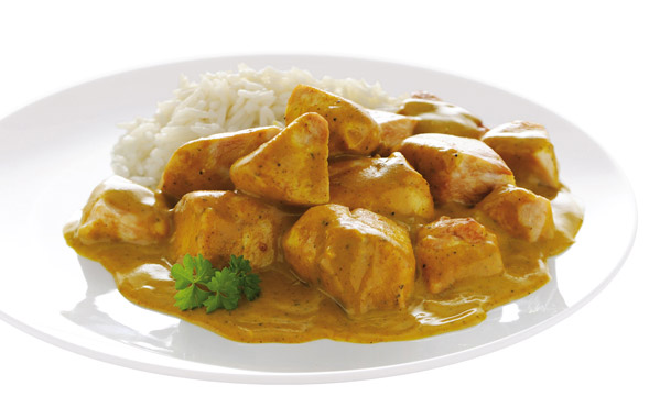 Cucina indiana pollo al curry